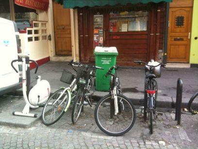 parqueadero de bicis